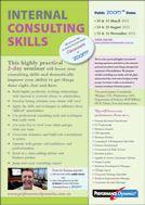 Internal Consulting Skills course brochure